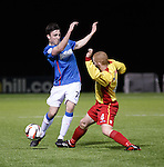 Calum Gallagher and Barry Russell