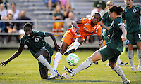 Rosana has a shot on goal..Saint Louis Athletica defeated Sky Blue F.C 1-0, at The Anheuser-Busch Soccer Park, Fenton, Missouri.