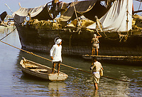 Kuwait October 1966.  Afternoon Scene on the Sief Waterfront.