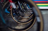 Women's Elite race start <br /> <br /> UCI 2019 Cyclocross World Championships<br /> Bogense / Denmark<br /> <br /> ©kramon