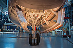 Space Shuttle Discovery Wheel Well, Air & Space Museum - Steven F. Udvar-Hazy Center