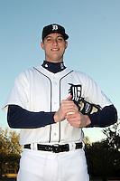 Feb 21, 2009; Lakeland, FL, USA; The Detroit Tigers pitcher Jon Kibler (70) during photoday at Tigertown. Mandatory Credit: Tomasso De Rosa/ Four Seam Images