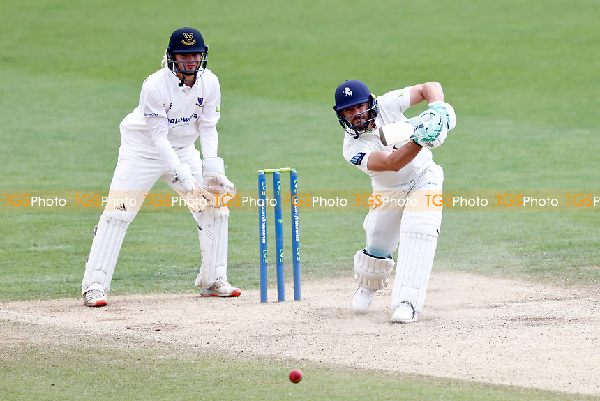 Heino Kuhn bats for Kent during Kent CCC vs Sussex CCC, LV Insurance County Championship Group 3 Cricket at The Spitfire Ground on 14th July 2021