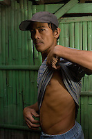 Vinar Mista, 34 who sold his kidney in 2003 for 90,000 pesos.  In the Basico area more than 3000 have sold their kidneys mostly to foreigners.<br /> <br /> <br /> PHOTO BY RICHARD JONES