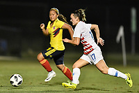 Lakewood Ranch, FL - Wednesday, October 10, 2018:   Jordan Canniff during a U-17 USWNT match against Colombia.  The U-17 USWNT defeated Colombia 4-1.