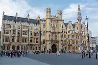UK, England, London.  Dean's Yard Gatehouse, Westminster.