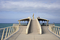 - Lido di Camaiore (Toscana), pontile sul mare Bellavista Vittoria <br /> <br /> - Lido di Camaiore (Tuscany), the pier Bellavista Vittoria
