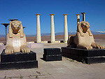 Egyptian set at the Atlas Film Studios in Quarzazate Morocco.