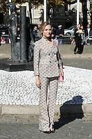 Diane Kruger - Show MIU MIU - Paris Fashion Week Womenswear Spring/Summer 2017 - 5 octobre 2016 - FRANCE