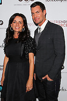 LOS ANGELES, CA, USA - NOVEMBER 18: Jenni Pulos, Jeff Lewis arrive at the Los Angeles Premiere Of Bravo's 'Girlfriends' Guide to Divorce' held at the Ace Hotel on November 18, 2014 in Los Angeles, California, United States. (Photo by Celebrity Monitor)