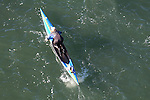 La Conner, Swinomish Channel, open water race, Sound Rowers Open Water Rowing and Paddling Club, Washington State, Pacific Northwest,  USA, Darrell Bednark, paddleboard,