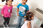 Education preschool Headstart program 2-3 year olds music and motion activity