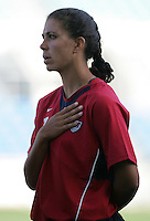 MAR 13, 2006: Faro, Portugal:  Shannon Boxx