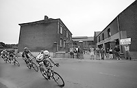 Julien Vermote (BEL) leads the escape group (in front of the De Kroon Brewery)<br /> <br /> 1st Brussels Cycling Classic<br /> Brussels - Brussels: 197km