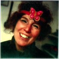Joy Matthews NYC Polaroid SX-70 photo c.1971