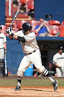 Long Island Blackbirds Tito Marrero #7 during a game against the Northwestern Wildcats at Chain of Lakes Stadium on March 18, 2012 in Winter Haven, Florida.  Northwestern defeated Long Island 9-4.  (Mike Janes/Four Seam Images)