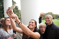 Washington, DC - October 27, 2015:  The USWNT visited the White House in celebration of winning the FIFA Women's World Cup.