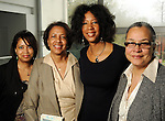 From left: Marsha Penn, Robbie Lee, Cheryl Harper and Michelle Barnes at a luncheon at the Houston Museum of African American Cuture Wednesday  March 10,2010. (Dave Rossman Photo)