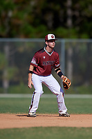 Grayson Preslar during the WWBA World Championship at the Roger Dean Complex on October 20, 2018 in Jupiter, Florida.  Grayson Preslar is a shortstop from Polkton, North Carolina who attends Anson High School and is committed to UNC-Asheville.  (Mike Janes/Four Seam Images)