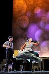 UN VIOLON SUR LE TOIT..Auteur : STEIN Joseph..Adaptateur : LAPORTE Stephane..Mise en scene : DESCHAUX Jeanne..Decor : TAPIERMAN Serge..Avec :..FILOU Charlotte:HODEL 2eme fille..AMAR Yoni:PERCHIK l'etudiant..Lieu : Le Palace..Ville : Paris..Le : 18 02 2010..© Laurent PAILLIER / photosdedanse.com..All rights reserved