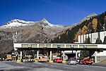 Austria, East-Tyrol, near Matrei: southern Toll-Gate of Felbertauern Tunnel | Oesterreich, Ost-Tirol, bei Matrei: suedliche Mautstation zum Felbertauerntunnel