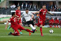 19.05.2018, Olympiastadium, Berlin, GER, DFB-Pokal, Finale FC Bayern Muenchen vs Eintracht Frankfurt<br /> , <br />Ante Rebic (Frankfurt) scores 1:0 *** Local Caption *** © pixathlon<br /> Contact: +49-40-22 63 02 60 , info@pixathlon.de