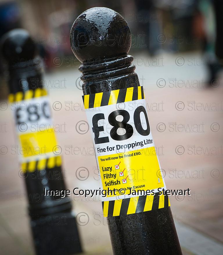 The Litter Strategy team £80 Litter Fine Information Day.
