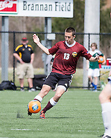 The Winthrop University Eagles played the UNC Wilmington Seahawks in The Manchester Cup on April 5, 2014.  The Seahawks won 1-0.  Nate Torbett (13)