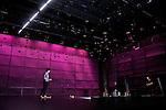 NOS SOLITUDES<br /> <br /> Chorégraphie : NIOCHE Julie<br /> Machinerie Aérienne : Haut + Court / ALEXANDRE Didier, FER Gilles<br /> Décor : MIRA Virginie<br /> Lumière : GENTNER Gilles<br /> Costumes : RIZZA Anna<br /> Avec :<br /> NIOCHE Julie<br /> MEYER Alexandre : guitariste<br /> Lieu : Centre Georges Pompidou<br /> Cadre : Festival d'Automne à Paris<br /> Ville : Paris<br /> Le : 26 10 2010<br /> © Laurent PAILLIER / www.photosdedanse.com<br /> All Rights reserved