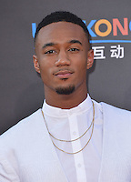 Jessie T. Usher @ the premiere of 'Independence Day: Resurgence' held @ the Chinese theatre.<br /> June 20, 2016.