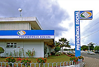Posto da Previdência Social em Boa Vista, Roraima. 2003. Foto de Juca Martins.