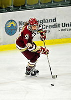 16 October 2010: Boston College Eagles' defender Katelyn Kurth, a Senior from High Bridge, NJ, in action against the University of Vermont Catamounts at Gutterson Fieldhouse in Burlington, Vermont. The Eagles defeated the Lady Cats 4-1 in the second game of their weekend series. Mandatory Credit: Ed Wolfstein Photo