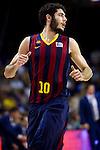 FC Barcelona's Alex Abrines during Liga Endesa ACB 2013-2014 match against Gipuzkoa Basket Club. November 3, 2013. (ALTERPHOTOS/Alex Caparros)