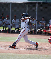 Jalen Miller - San Francisco Giants 2019 spring training (Bill Mitchell)