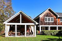 house's yard