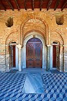 14th century Byzantine Monastery of Vlatades ( Vlatadon ) a Palaeochristian and Byzantine Monuments of Thessaloniki, Greece. A UNESCO World Heritage Site. ,