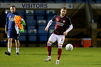 Calum Chambers of Arsenal warms up ahead of kick-off during Gillingham vs Arsenal Under-21, Papa John's Trophy Football at the MEMS Priestfield Stadium on 10th November 2020