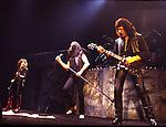 Black Sabbath 1984  Geezer Butler, Ian Gillan, Tony Iommi..© Chris Walter..