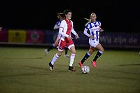 VOETBAL: NIEUWEHORNE: Sportcomplex UDIROS, SC Heerenveen-AJAX, uitslag 1-2, ©foto Martin de Jong