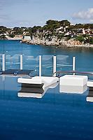 Europe/France/Provence -Alpes-Cote d'Azur/83/Var/Bandol: Piscine de l'Hôtel Ile Rousse,