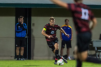 STANFORD, CA - August 19, 2014: Jimmy Callinan during the Stanford vs CSU Bakersfield men's exhibition soccer match in Stanford, California.  Stanford won 1-0.