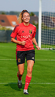 20200911 - TUBIZE , Belgium : Tessa Wullaert pictured during a training session of the Belgian Women's National Team, Red Flames , on the 11th of September 2020 in Tubize. PHOTO SEVIL OKTEM  SPORTPIX.BE