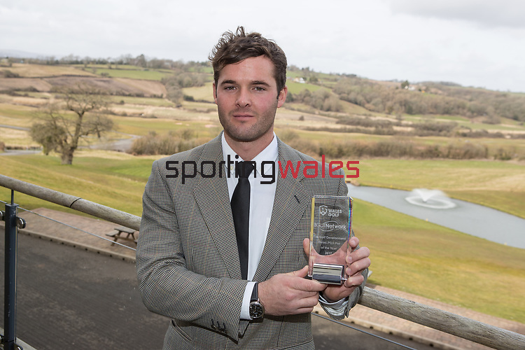 Wales Golf Awards 2017<br /> Celtic Manor Resort<br /> 23.03.18<br /> Steve Pope ©Sportingwales