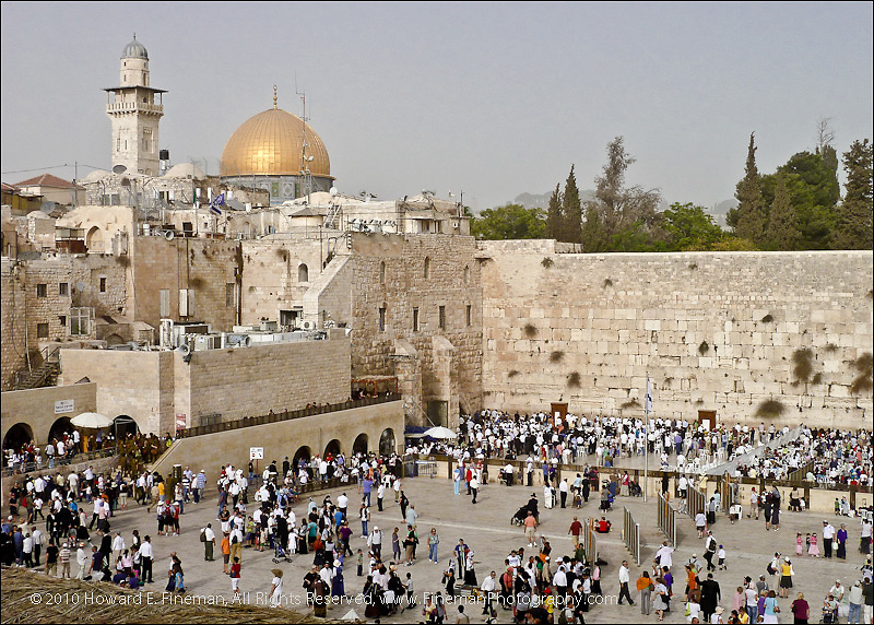 Western Wall & Dome of the Rock, Old Jerusalem