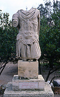 Greek Art:  The Emperor Hadrian,  Athens.  Photo '82.