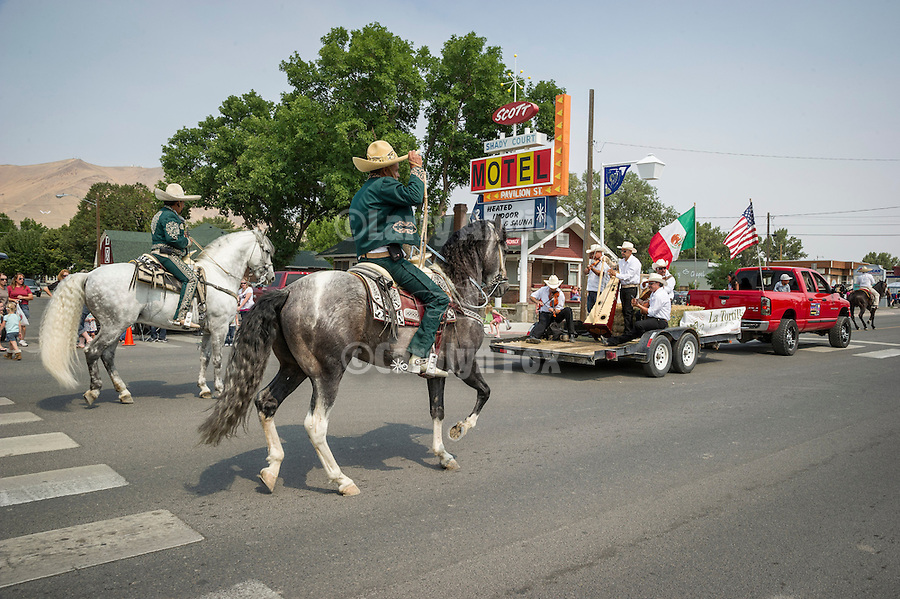 Winnemucca's annual Labor Day Parade on 4th Street<br /> <br /> Dancing horses
