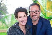 LINDA HARDY & CLAUDIO LEMMI - Soirée d'inauguration de la foire du trône 2017 - Paris, France - 31/03/2017