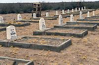Friedhof der Deutschen Schutztruppe in Namibia in Kub