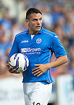 St Johnstone v FC Luzern...24.07.14  Europa League 2nd Round Qualifier<br /> Gary Miller<br /> Picture by Graeme Hart.<br /> Copyright Perthshire Picture Agency<br /> Tel: 01738 623350  Mobile: 07990 594431