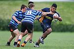 NELSON, NEW ZEALAND - SEPTEMBER 19: Rugby- Nelson College U16 v Malborough U16 Saturday19 September  2020 ,Nelson New Zealand. (Photo byEvan Barnes/ Shuttersport Limited)